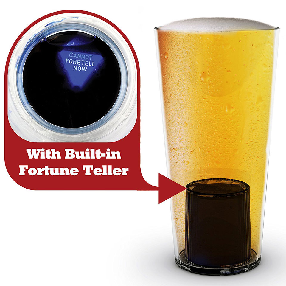 Fortune Telling Beer Glass