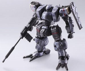 Front Mission Zenith Action Figures
