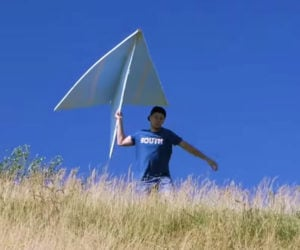 Giant Paper Airplane