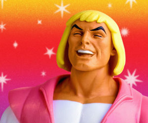 He-Man Laughing Prince Adam Figure