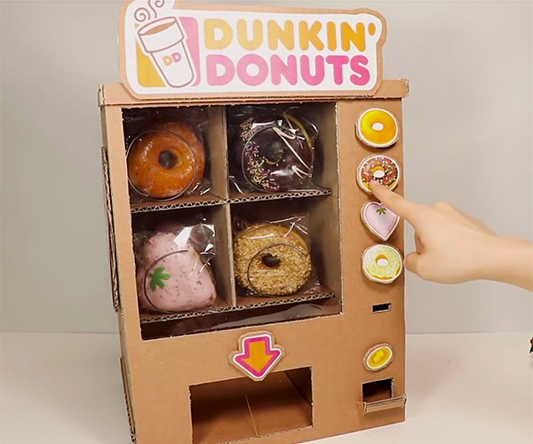 How to Make a Donut Vending Machine