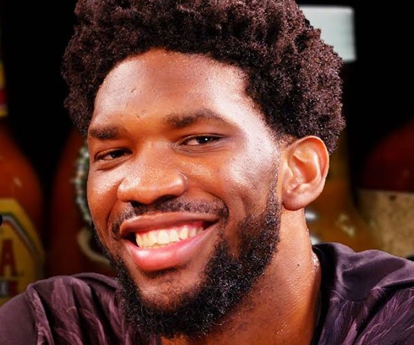 Joel Embiid vs. Hot Wings