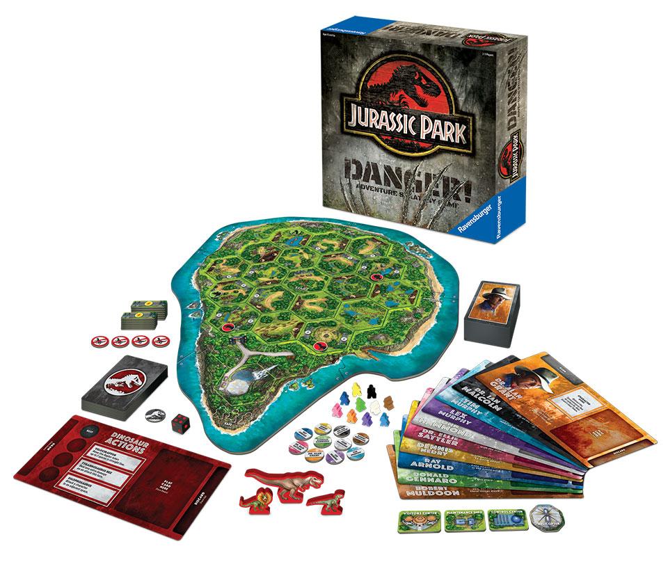 Jurassic Park Danger! Board Game