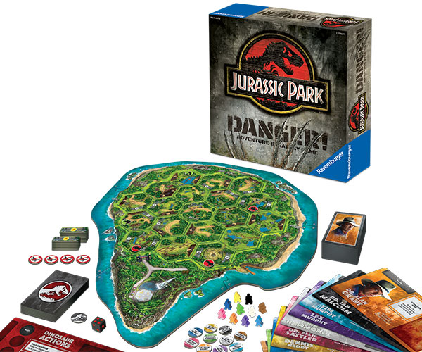 Jurassic Park Danger! Board Game