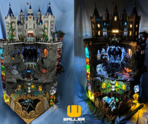 LEGO Batcave & Wayne Manor