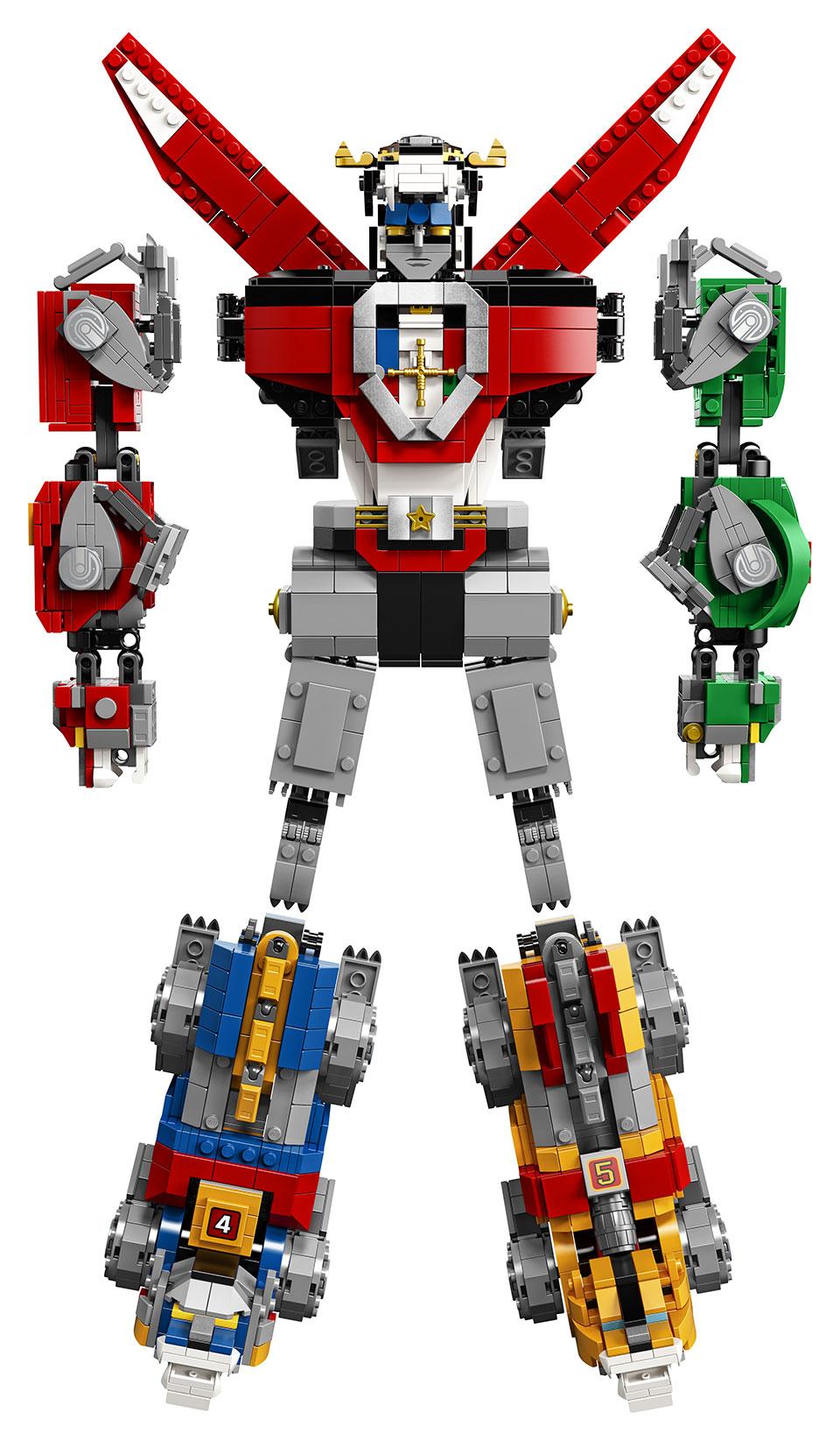 LEGO Voltron Set