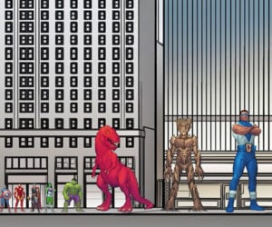 Marvel Superhero Size Chart