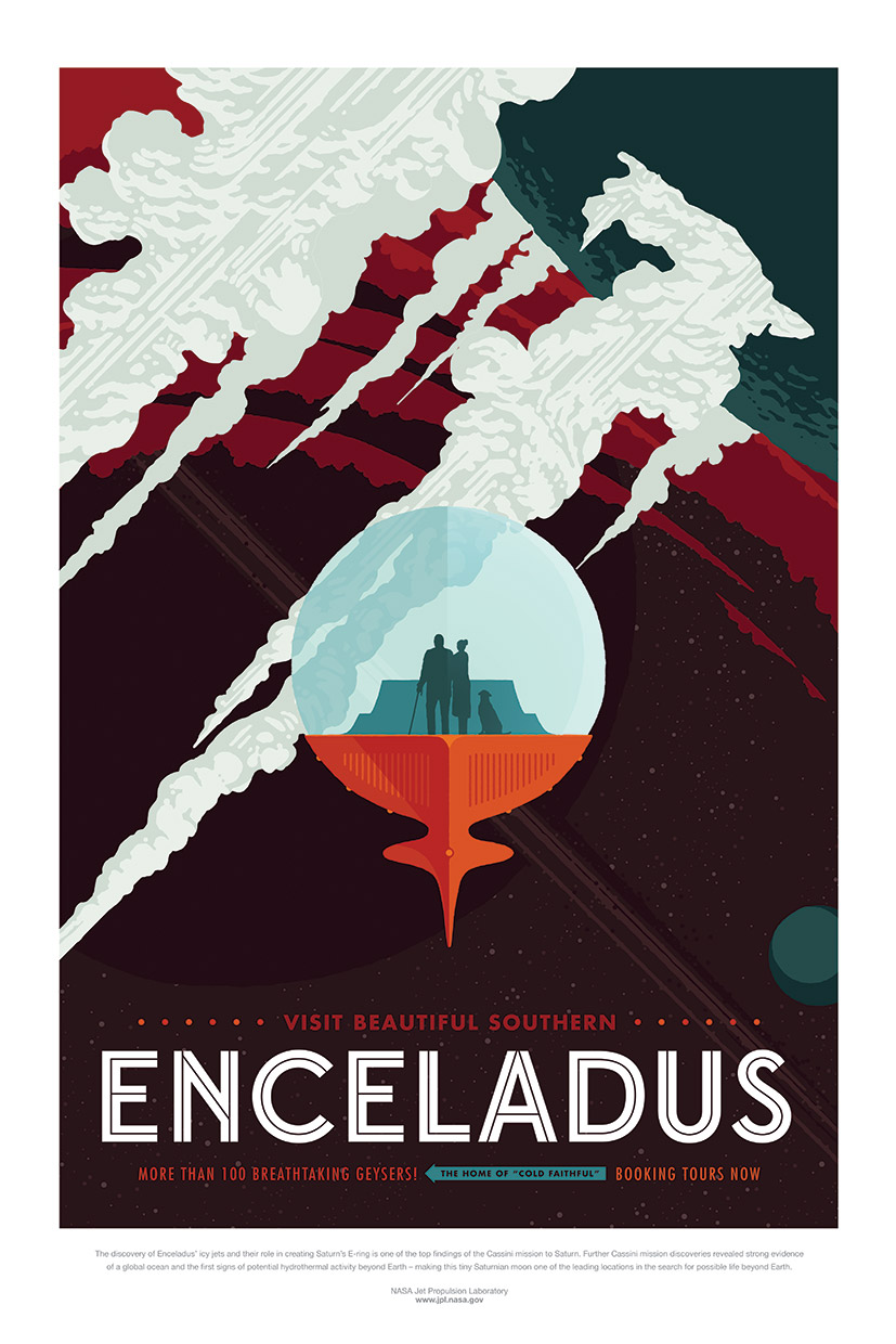 NASA/JPL Space Tourism Posters