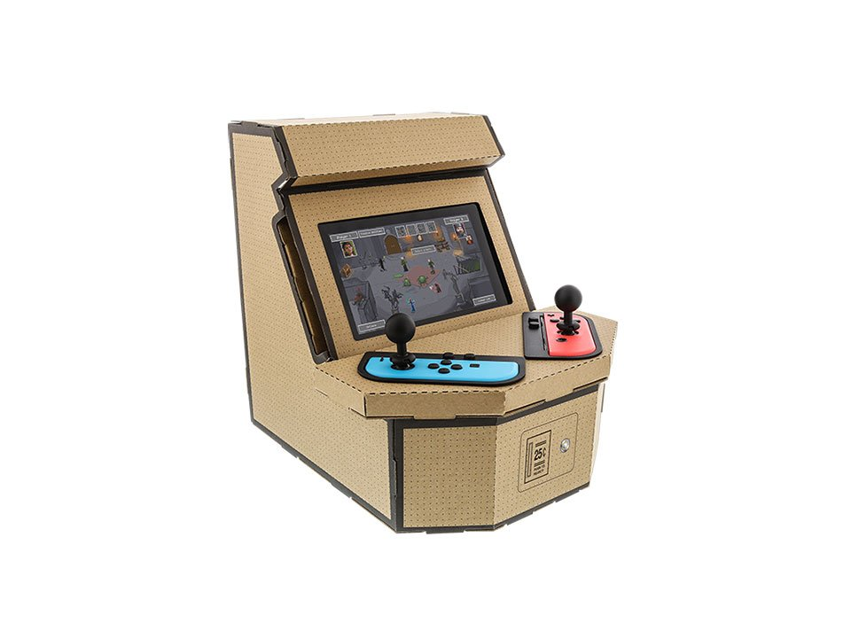 PixelQuest Arcade Kit for the Switch