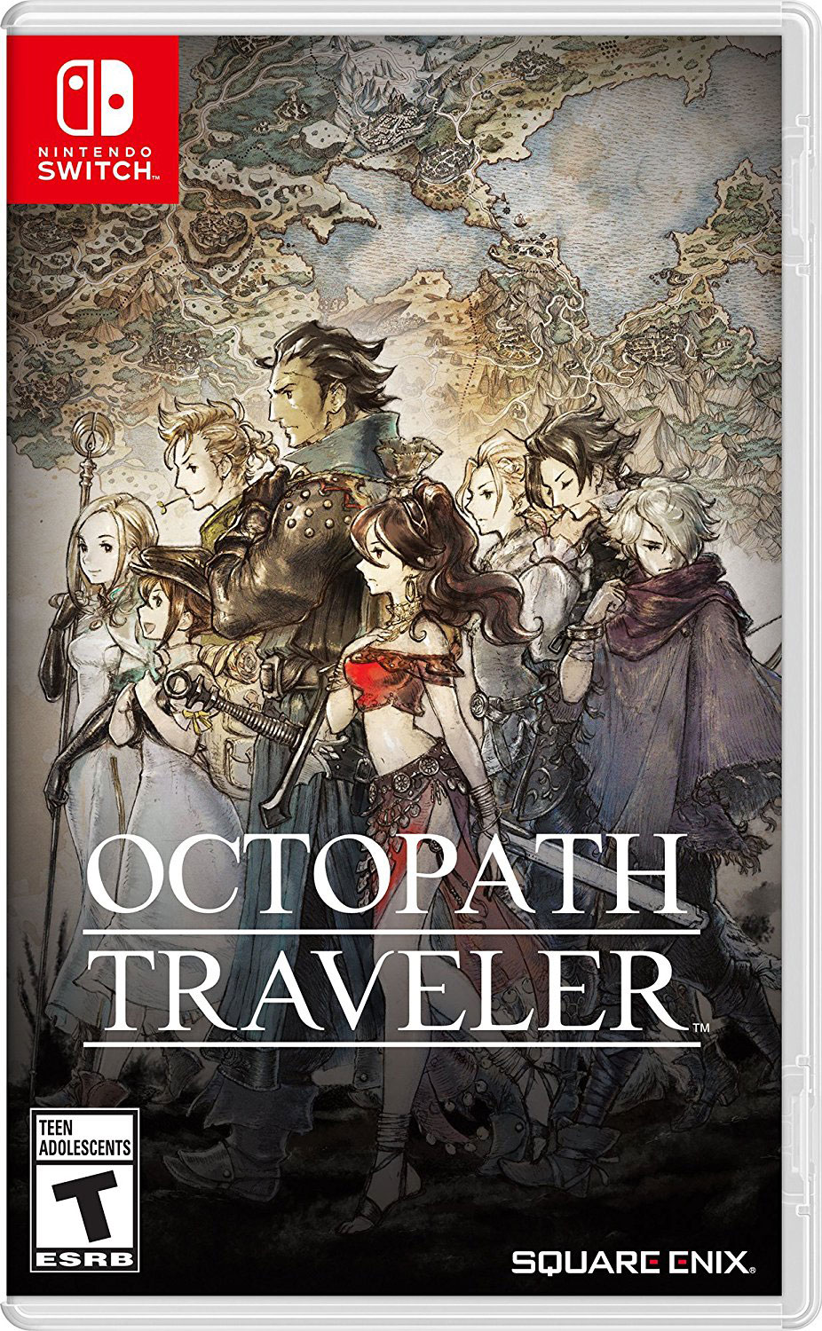 Octopath Traveler for Switch