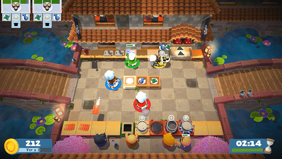 Cooking Games For Xbox 360 : The hilarious cooking party game overcooked gets a sequel