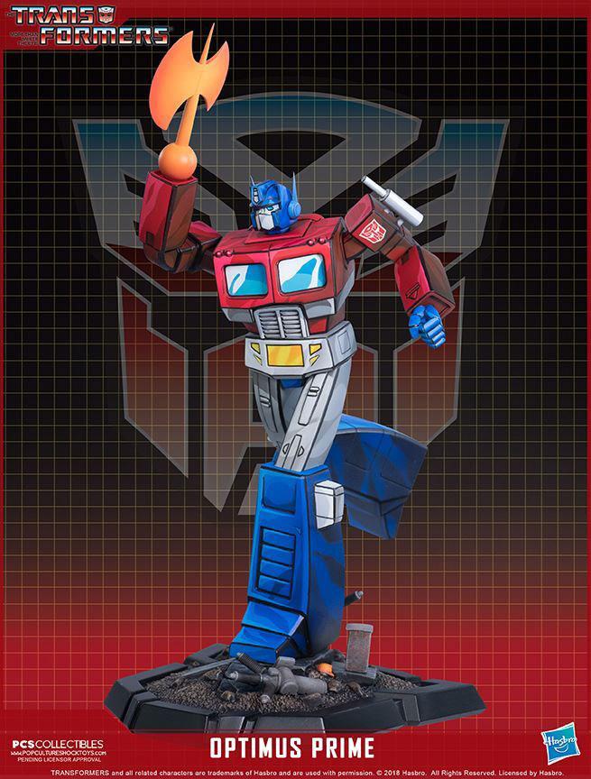 PCS Optimus Prime Classic Statue