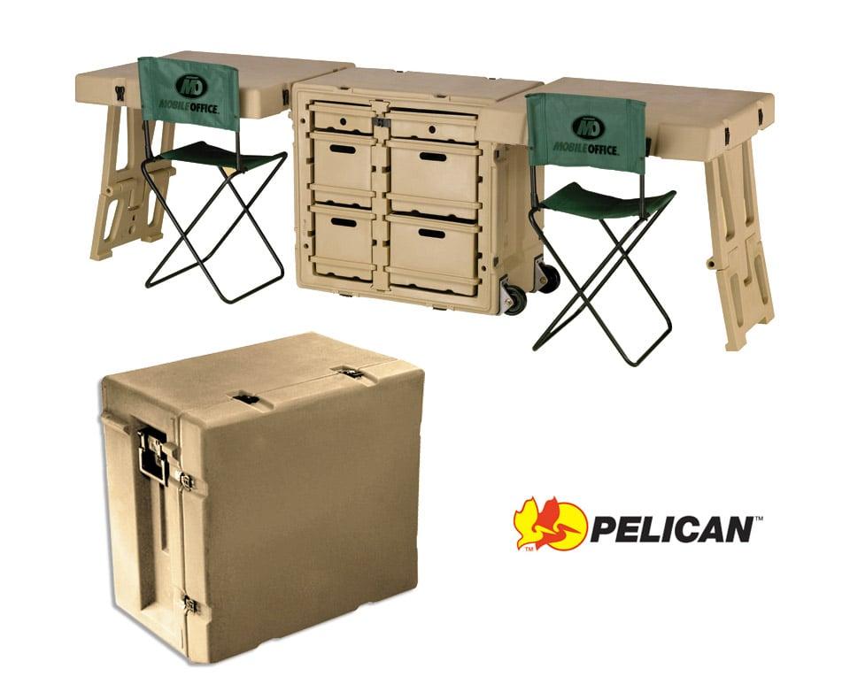 Pelican 472 FLD DD Field Desk