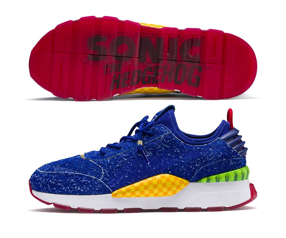 ed6bad1d7ba8d2 Puma Sonic the Hedgehog Sneakers Will Help Your Spin Dash