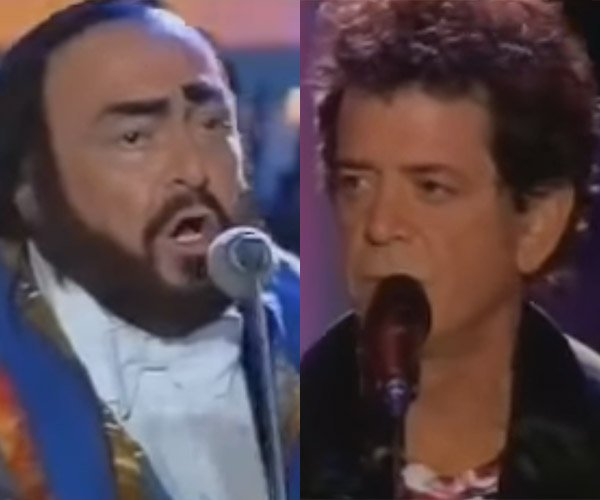 When Lou Reed Met Luciano Pavarotti