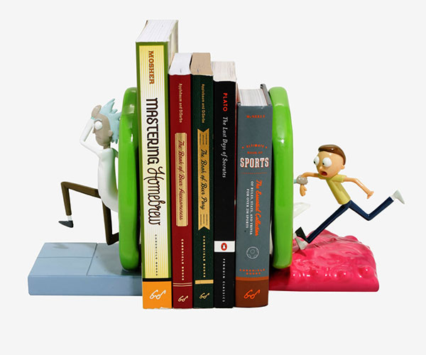 Rick & Morty Portal Bookends