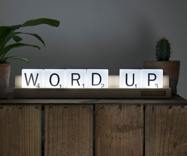 Scrabble Tile Lights