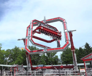 Six Flags Cyborg Cyber Spin Ride
