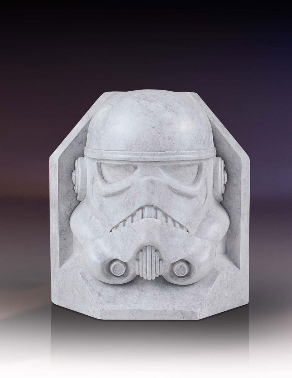 Check Out These Faux Marble Darth Vader And Stormtrooper