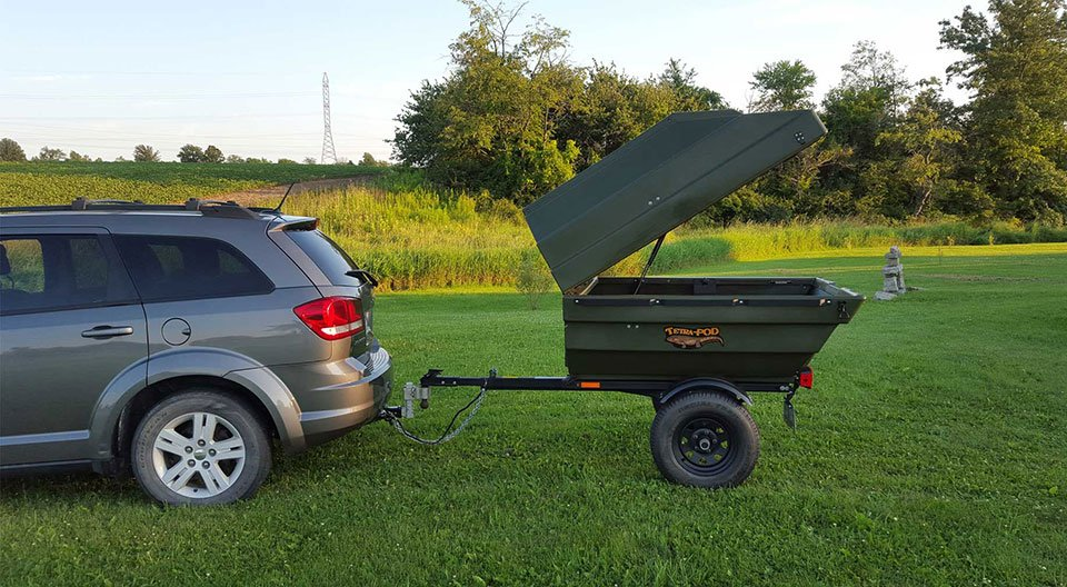 TetraPOD Tub Trailer & Boat