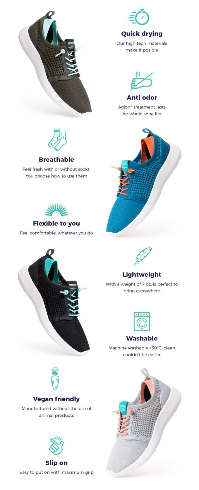 Tropic Quick Drying Shoes