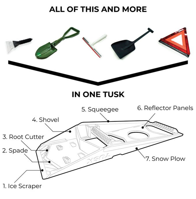 Tusk Snow Shovel