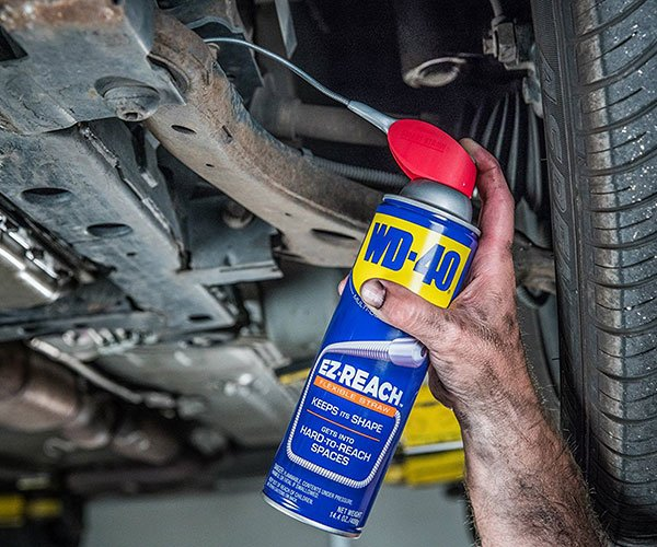 WD-40 with EZ-Reach Straw