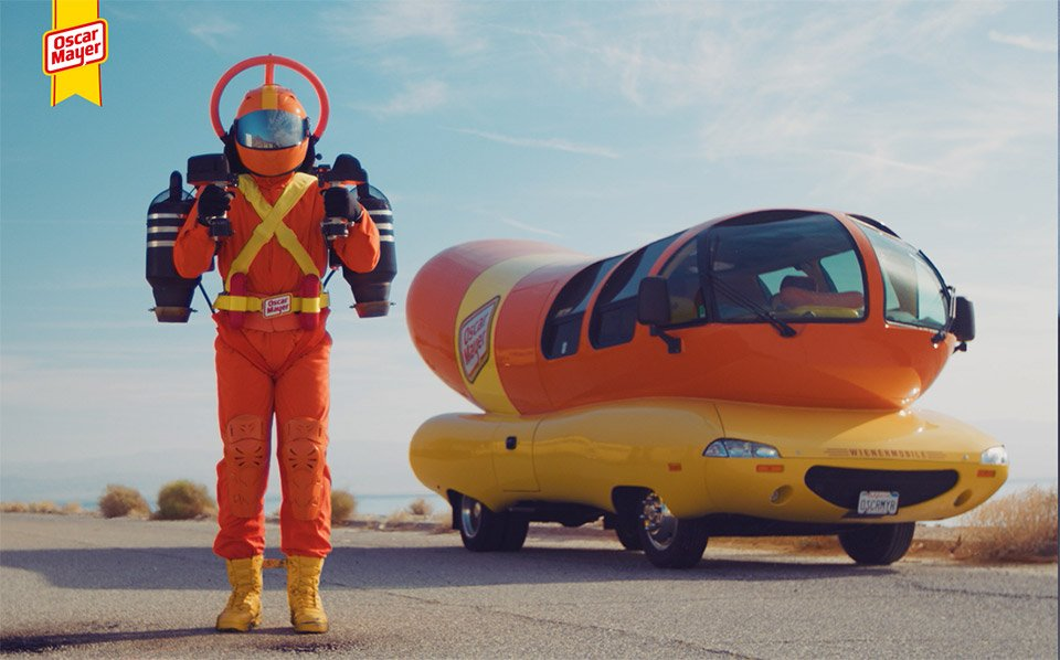Wienermobile Jet Pack
