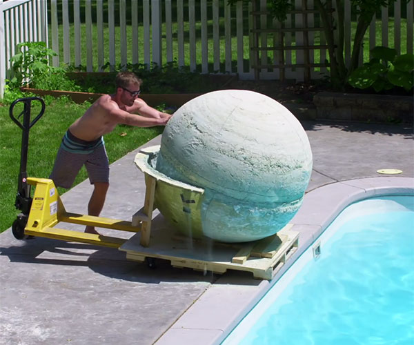 World's Largest Bath Bomb