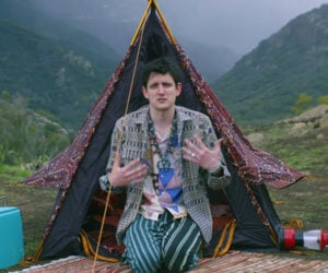 Zach Woods in the Woods