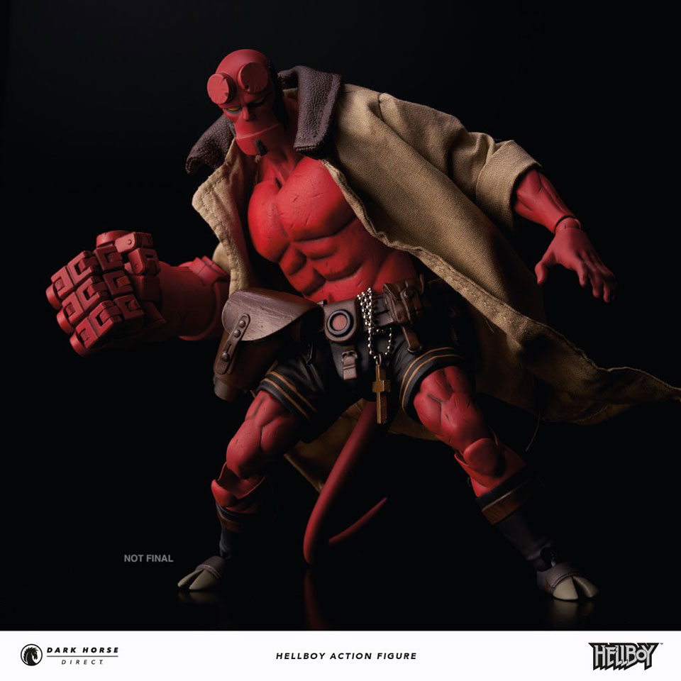 Hellboy Action Figure: Check Out 1000Toys' Highly Detailed Hellboy 1/12th Scale