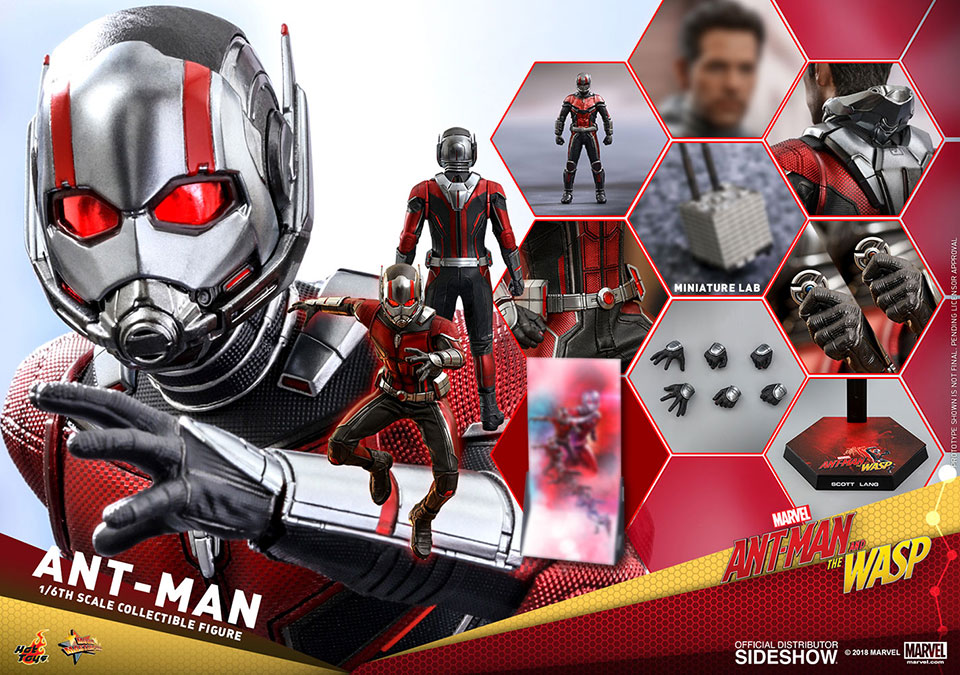 Ant-Man and The Wasp Action Figures