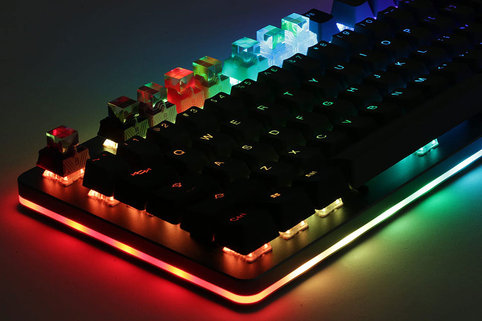 Gen.S Prism Keyboard Keycaps