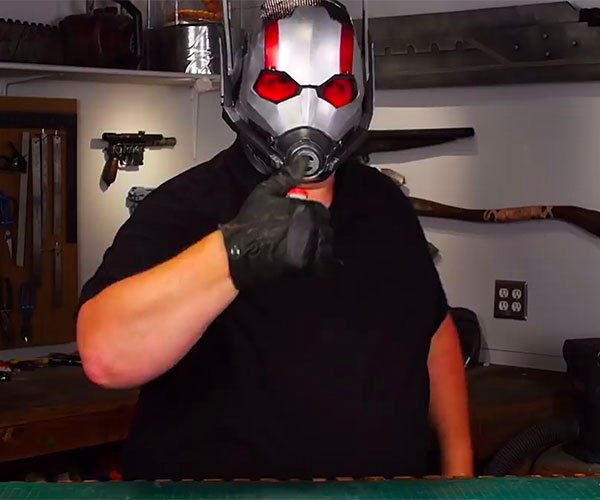 Heres How You Can Make Ant Mans Helmet Using Foam