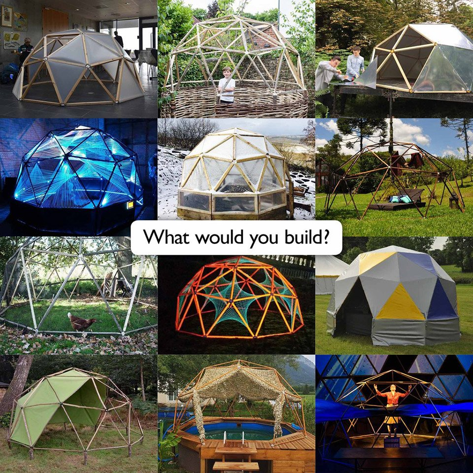 Geodesic Dome Kit