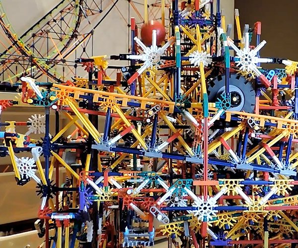 Insane K'Nex Ball Machine