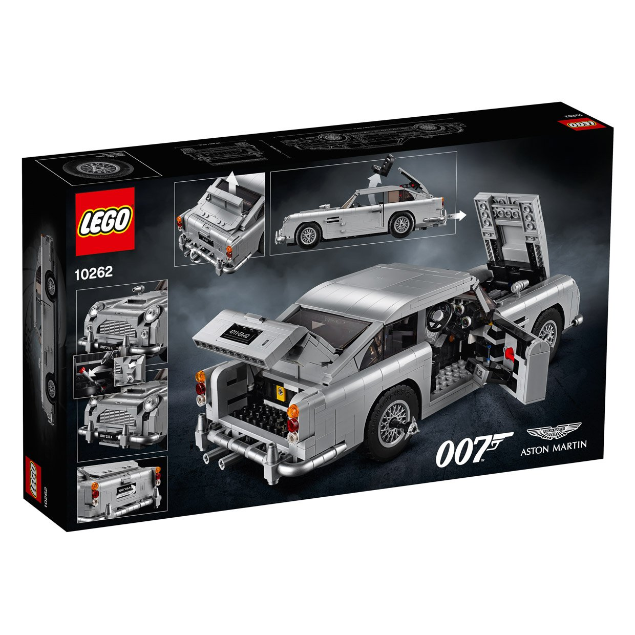 The Official LEGO James Bond Aston Martin DB5 Looks Fantastic