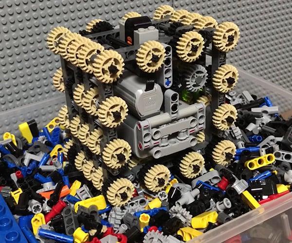 LEGO Digger Experiments