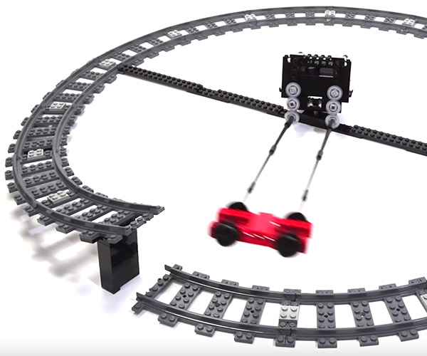 LEGO Technic Flying Train