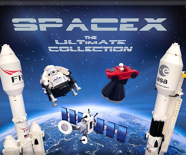 LEGO SpaceX Collection Concept