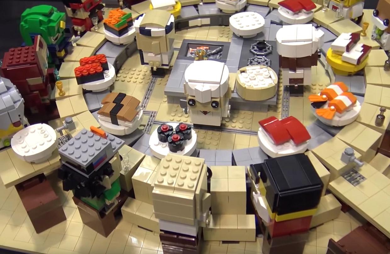 LEGO Sushi Conveyor