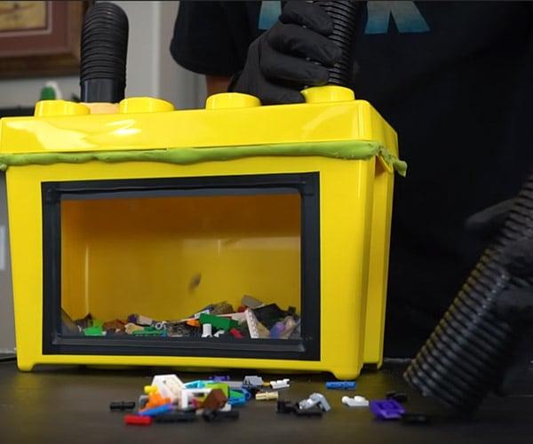 DIY LEGO Brick Vacuum