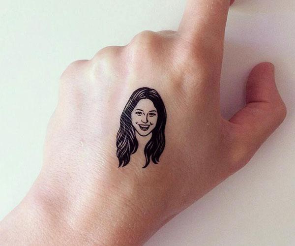 Lili Mandrill Temporary Tattoos