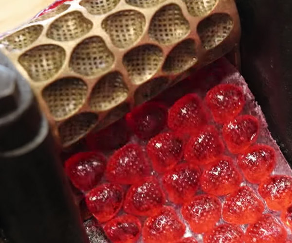 Making Victorian Strawberry Candy
