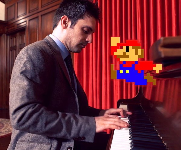 Super Mario Bros. Ragtime Style