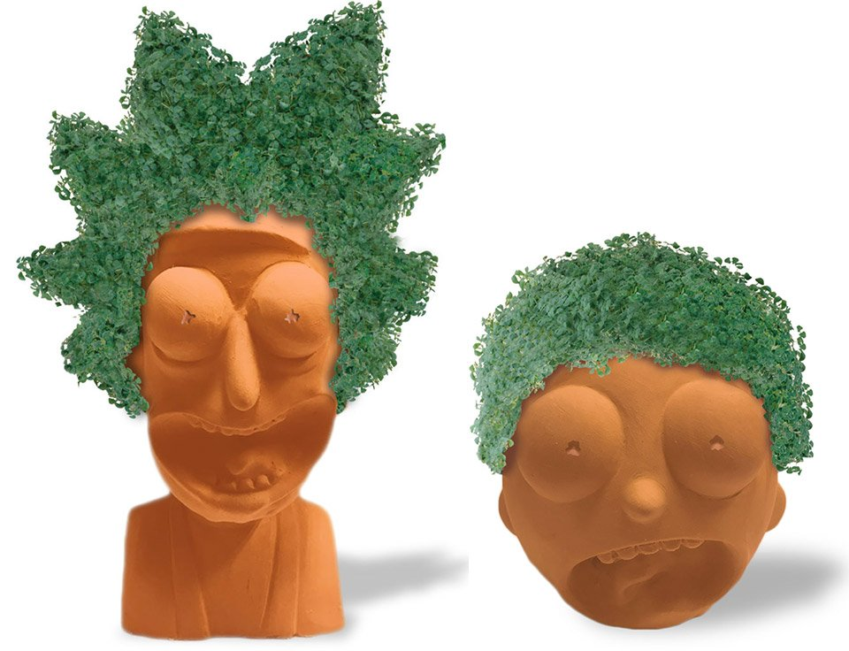 NECA Chia Pets Include Rick an...