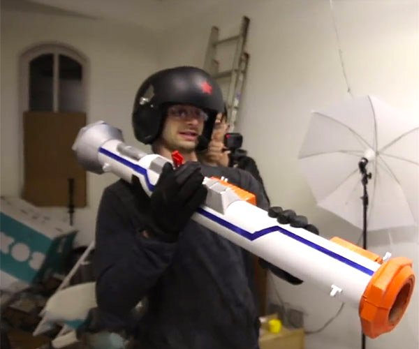 DIY NERF Rocket Launcher