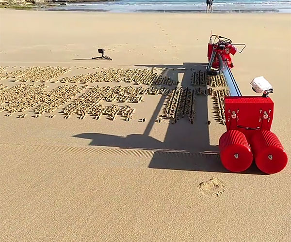 Sand Drawing Robot
