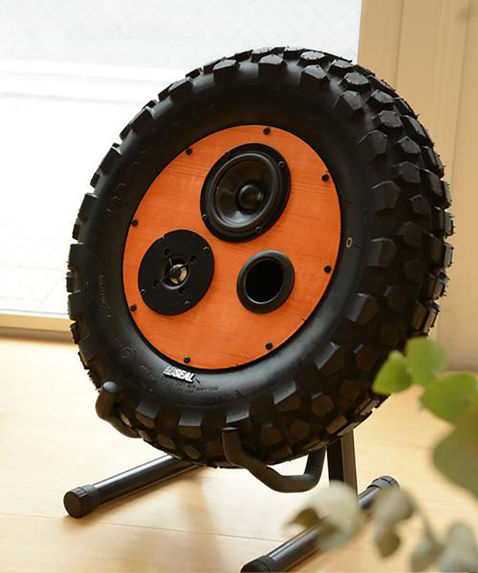 Seal Tire Bluetooth Speaker