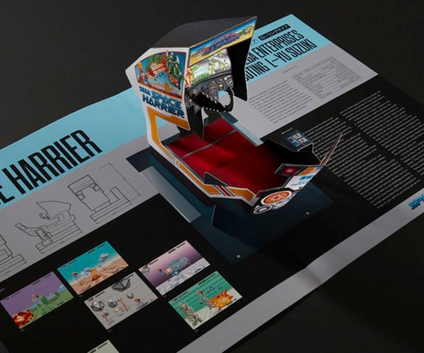 Sega Arcade: Pop-Up History Book